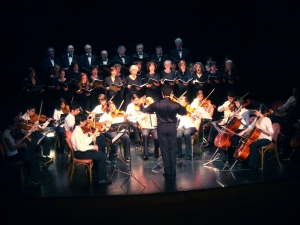 Concierto Misa Brevis de Haydn . Colegio Escolapios